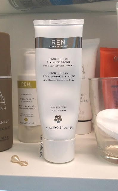 REN Skincare Flash Rinse 1 minute facial recensione review