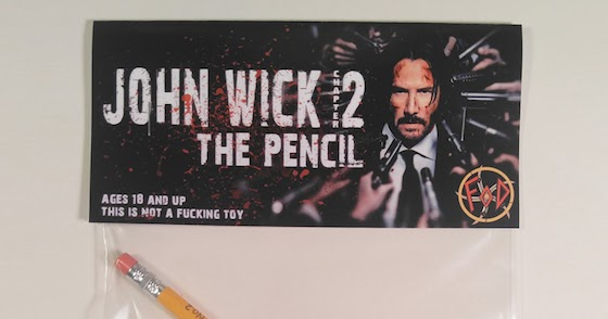 The Pencil From John Wick Chapter 2 A New Creation From The Forces Of Dorkness
