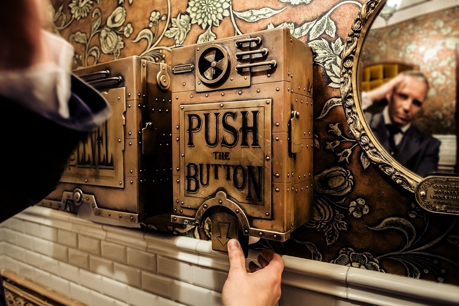 11-Paper-Dispenser-and-Hand-Dryer-Dmitry-Tihonenko-Average-Items-given-the-Steampunk-Treatment-www-designstack-co