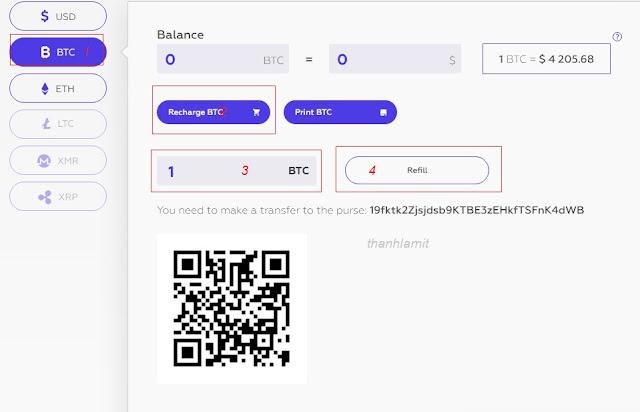 Đầu tư Alpha Cash bằng Bitcoin