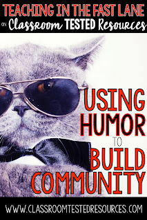 Have you tried using humor to build community in your classroom? Belly laughs are good for the body, mind, and soul!