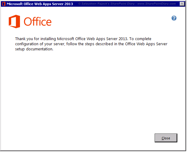 How to Configure Office Web Apps 2013 for SharePoint 2013