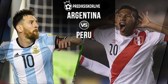 PREDIKSI BOLA Argentina vs Peru