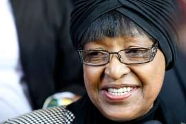 Winnie Mandela recuperating in hospital
