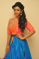 Nithya Shetty in Orange Choli at Kalamandir Foundation 7th anniversary Celebrations ~  Actress Galleries 012.JPG