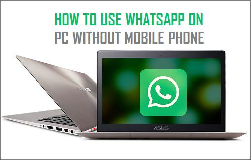 how to run whatsapp on pc or mac