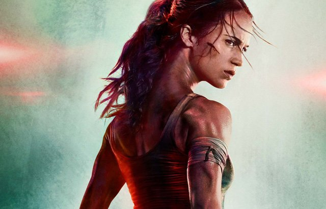 Alicia Vikander Is Fierce In First Tomb Raider Reboot Poster.