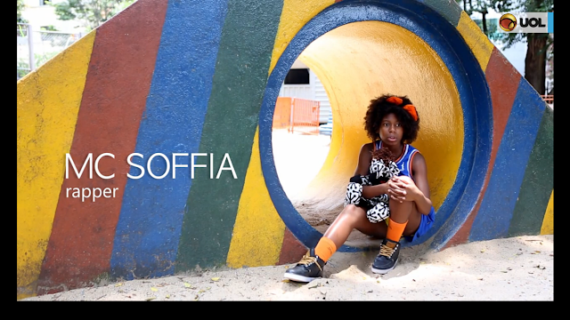 ENTREVISTA - Mc Soffia é referencia negra para crianças e adultos