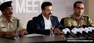 stills of malayalam film Mumbai Police