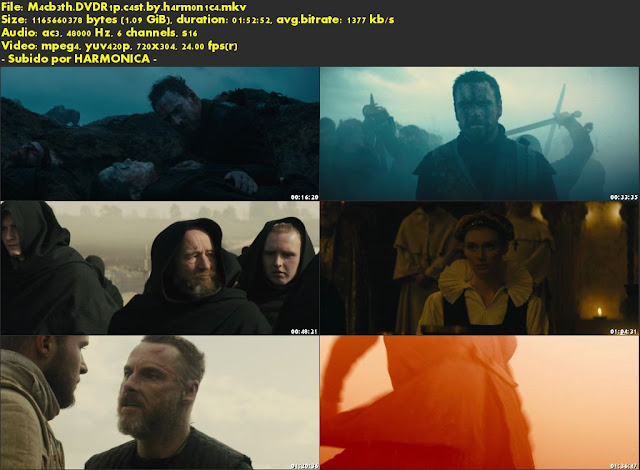 Descargar Macbeth (2015) Castellano por MEGA.