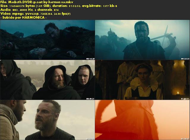 Descargar Macbeth (2015) Castellano por MEGA.