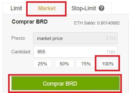 Comprar Bread (BRD) en Binance y Coinbase Tutorial