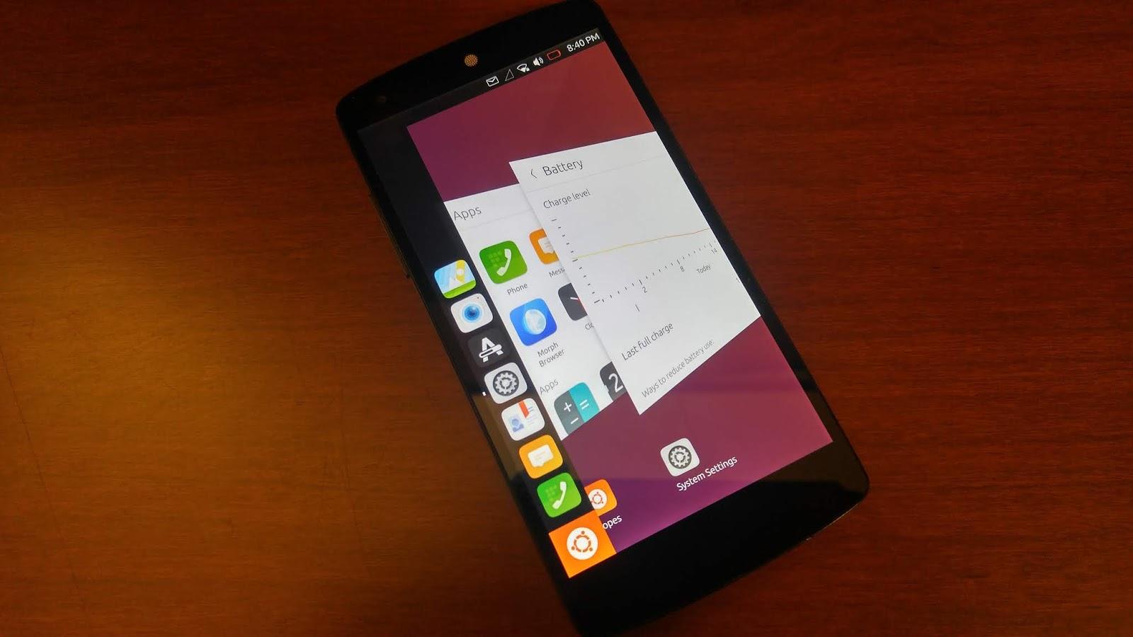 Initial Product Testing Notes: Ubuntu Touch OTA-7 on Google Nexus 5