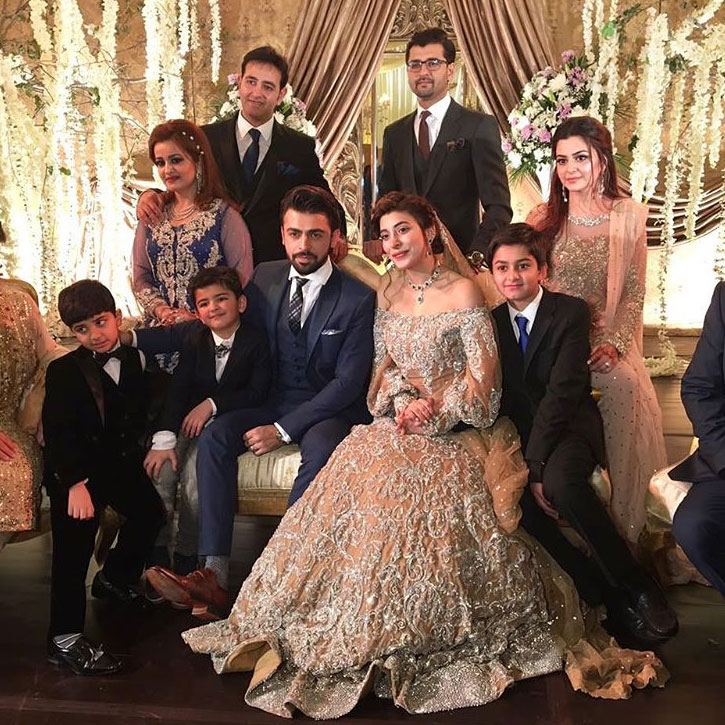 Urwa Hocane And Farhan Saeed Marriage Pictures Barat Day