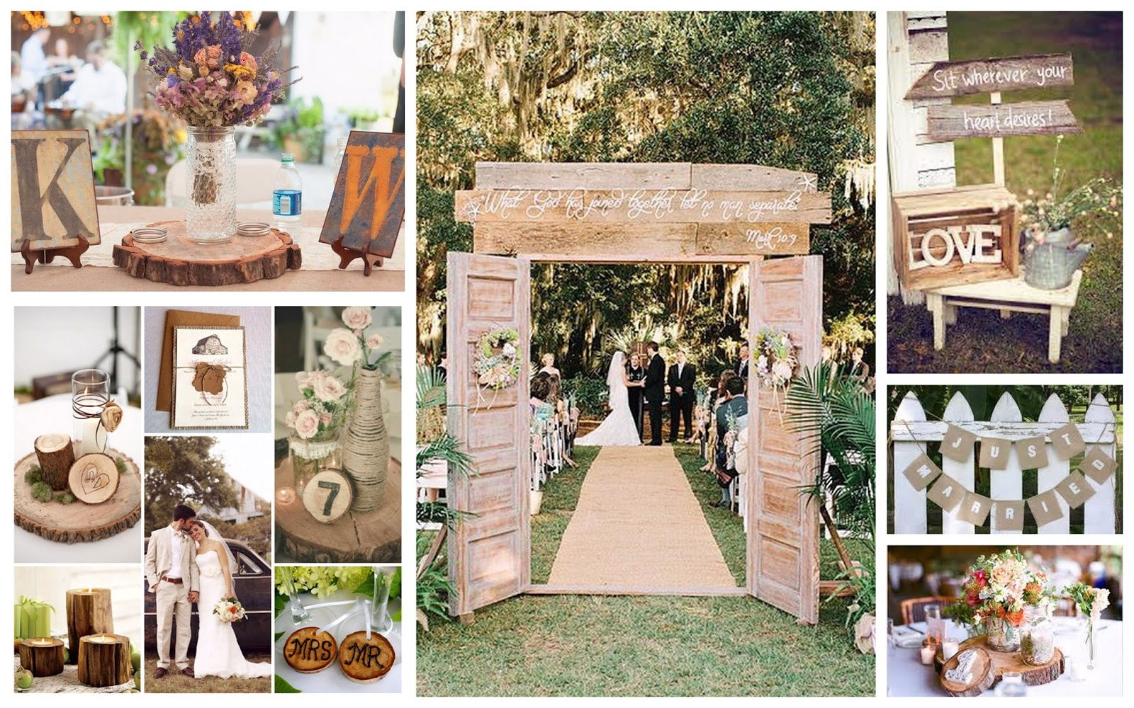 Rustic Themed Wedding Athena Miel's Balloons, Bubbles And