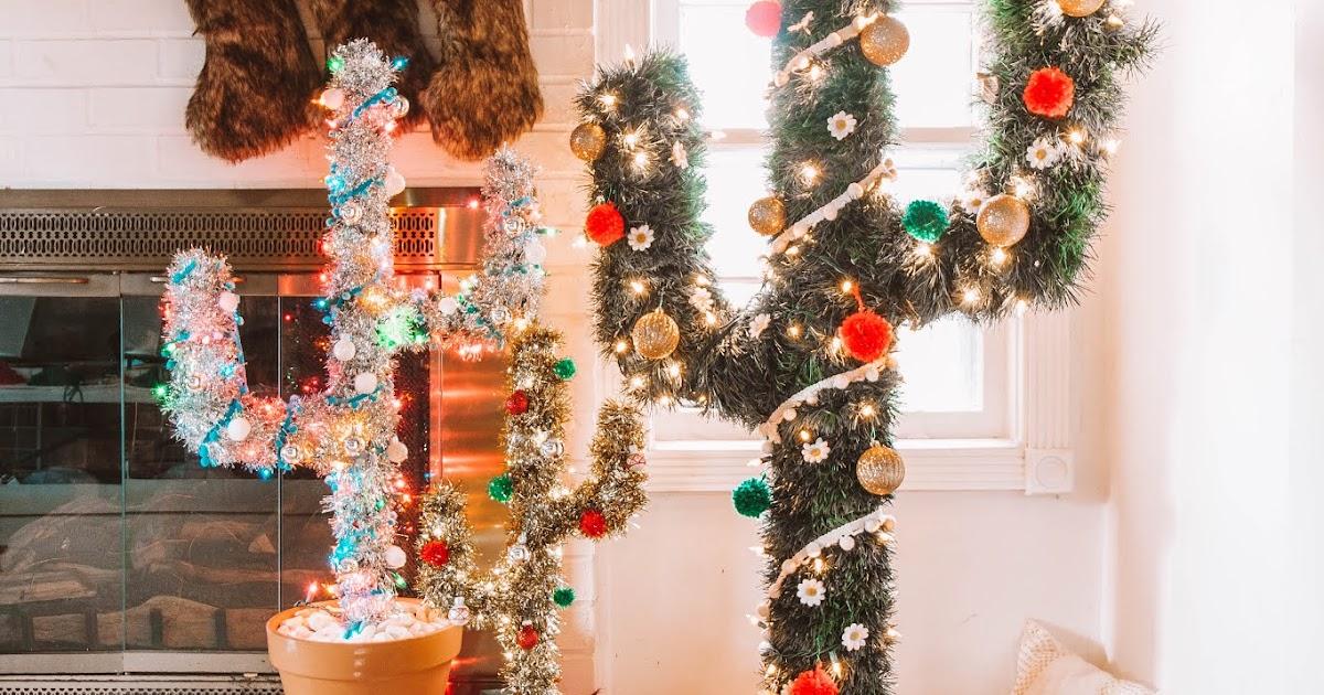 Mini Cactus Christmas Tree DIY