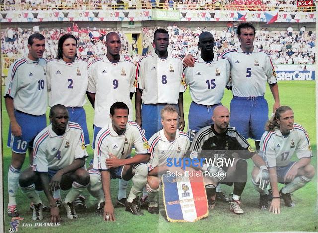 Poster Tim Prancis 2000