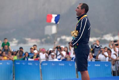 Damien Seguin en OR aux Jeux Paralympiques de Rio !