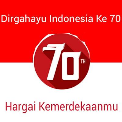 Dirgahayu Indonesia Ke 70