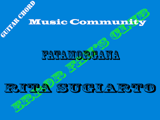 Chord Gitar Rita Sugiarto Feat Rhoma Irama | Fatamorgana