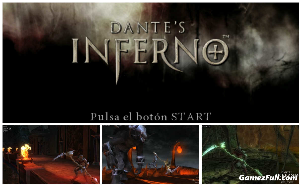 capturas para Dantes Inferno psp español 1 link