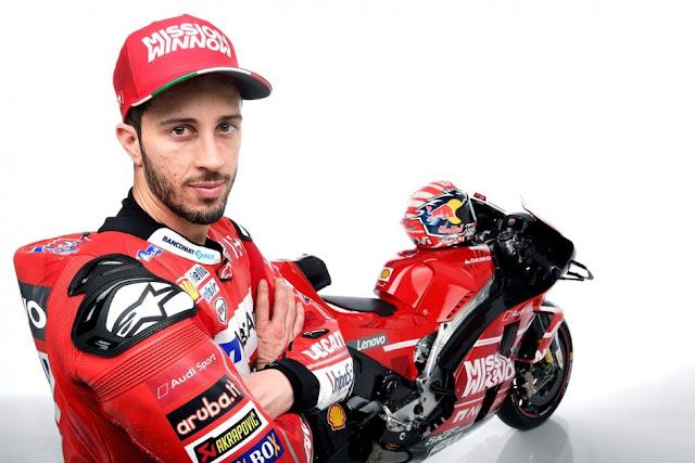 Andrea Dovizioso bahagia dengan seni administrasi Ducati di MotoGP Prancis