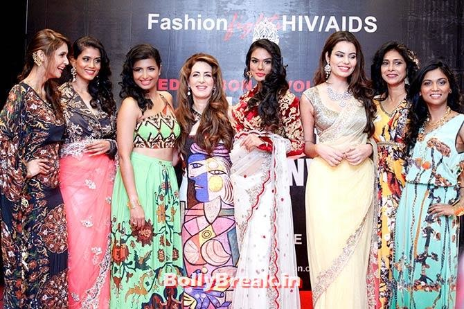 Fashion divas with Pria Kataria Puri, A fashion show to fight AIDS in Mumbai