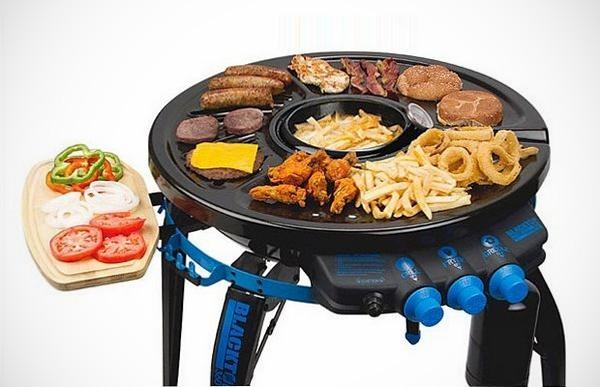 Bravo Sports Blacktop 360 Party Hub Grill