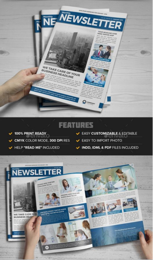 46. Newsletter Indesign Template v3