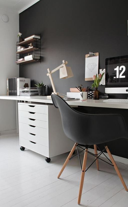 cute working space design idea