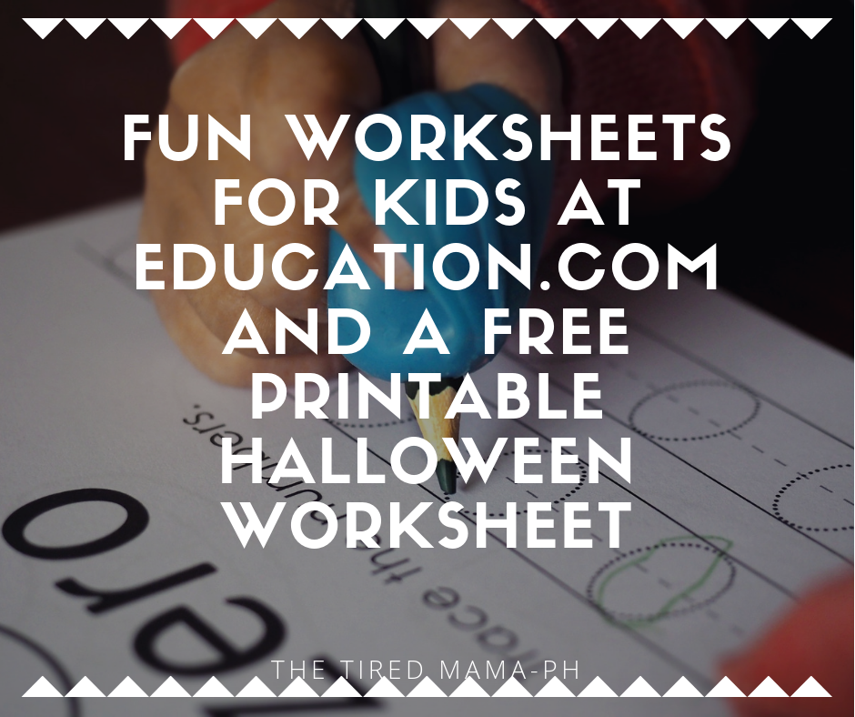 It's just an image of Free Printable Halloween Worksheets in elementary student