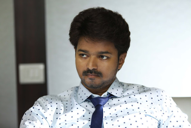Actor vijay in Bairavaa tamil movie latest photos