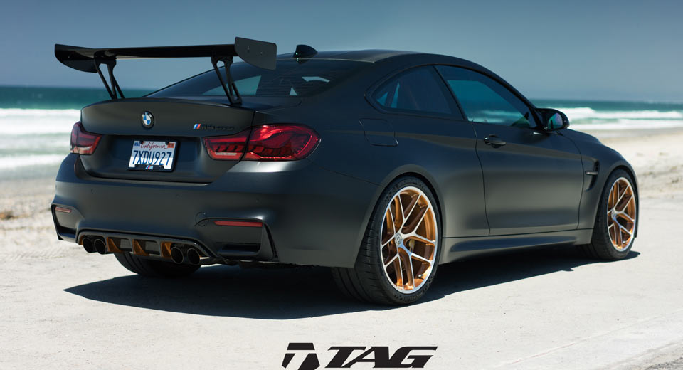 Bmw M4 Gts Looks Ready To Attack In Matte Black