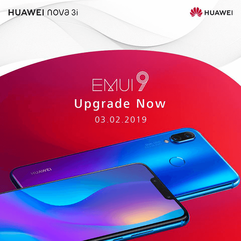 Huawei updates Nova 3i to Android Pie with EMUI 9.0