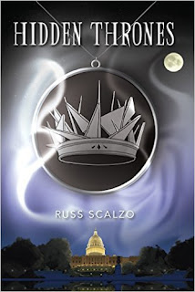 Hidden Thrones - A fast moving thriller by Russ Scalzo