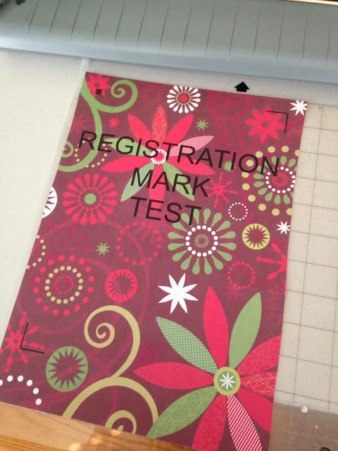 registration marks, Silhouette, Silhouette Studio, print and cut, registration mark error