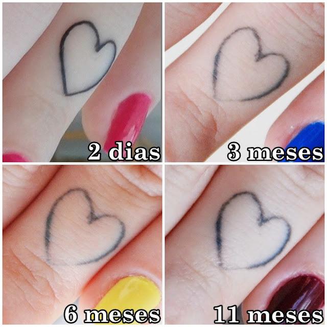 Resultado de imagem para tatuagens no dedo antes e depois