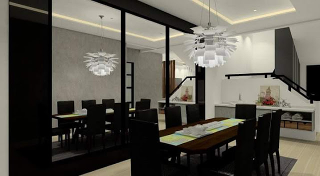 Dining Room Design - Meridian Interior Design