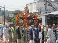 甘縄神明神社例祭