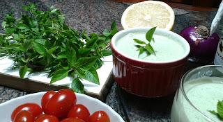 Molho de Iogurte natural para Salada