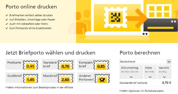 Gadgetgedanken Briefmarken Selbst Gemacht Mit Der Internetmarke Der