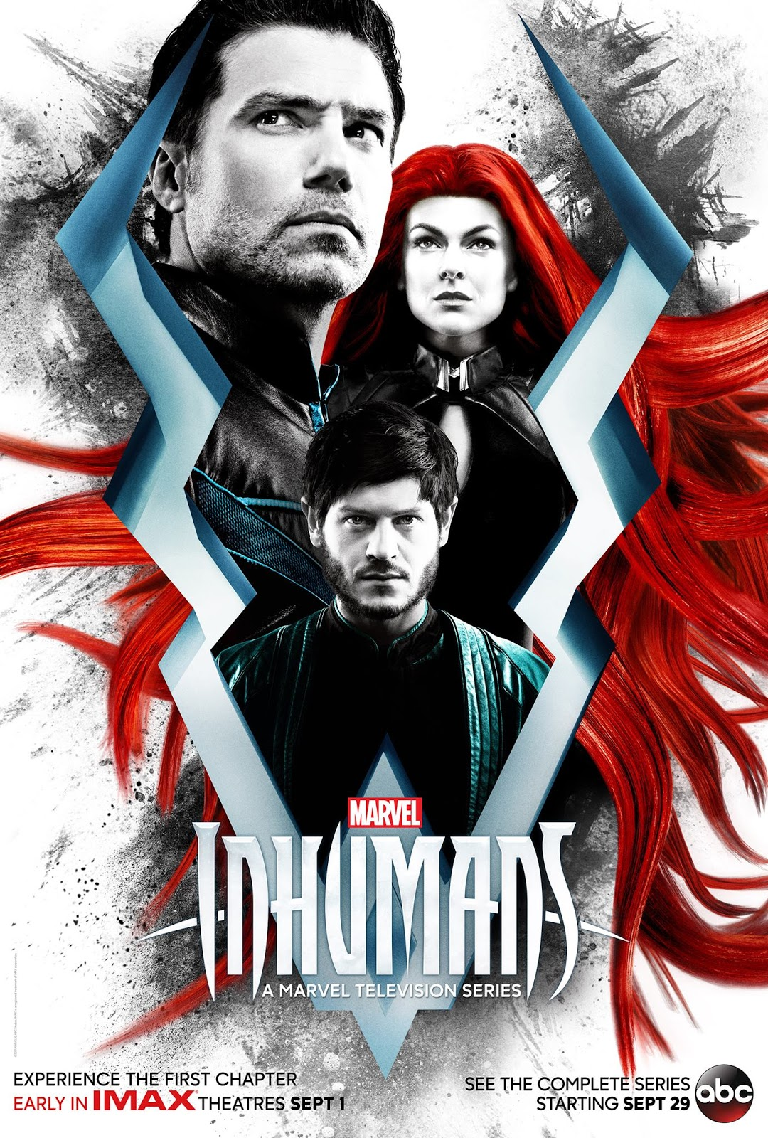 Marvel ABC Inhumans poster
