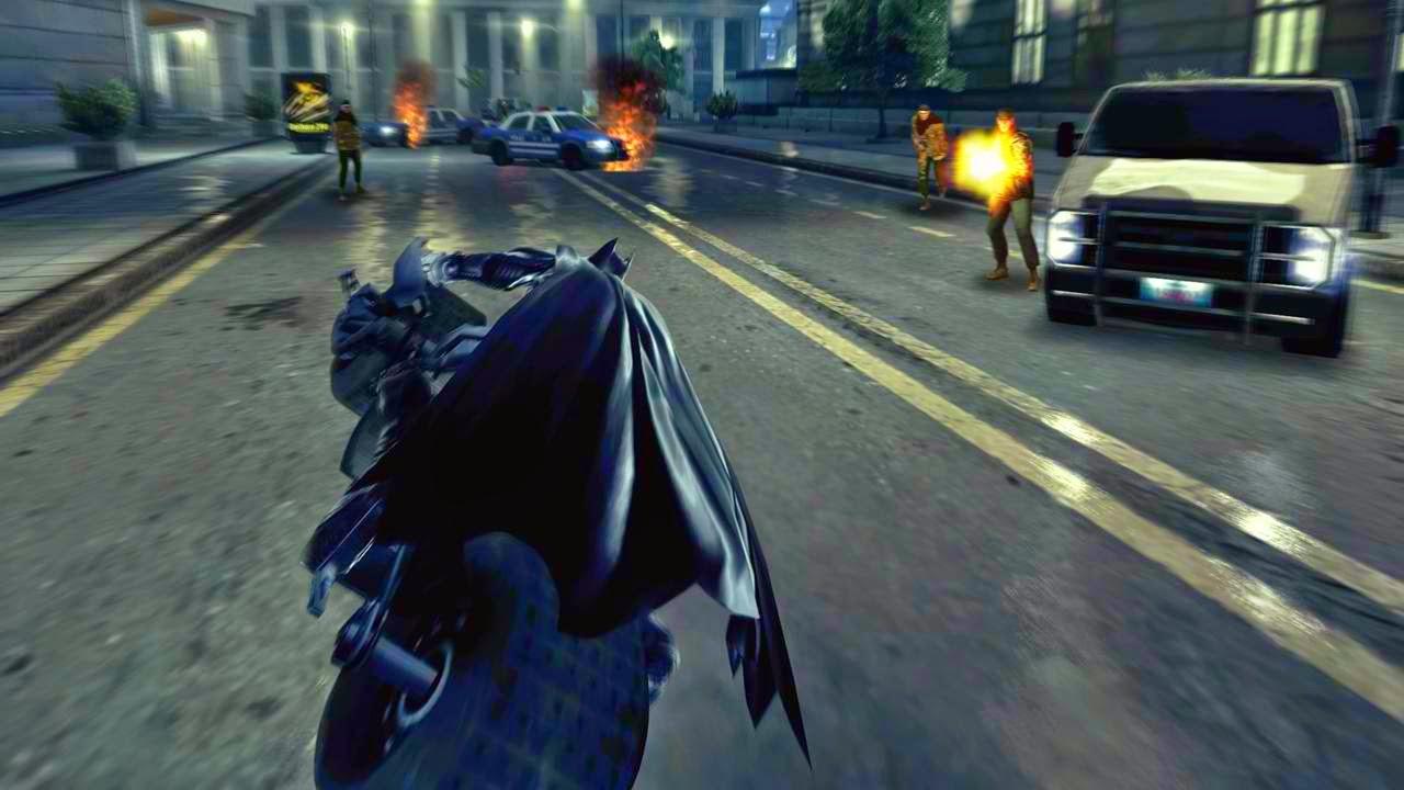 Dark Knight Rises Game
