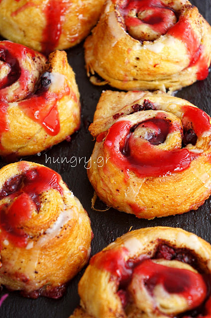 Forest Fruit Cinnamon Rolls