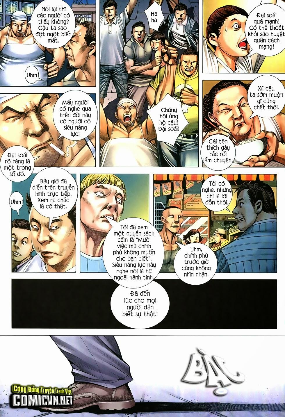 Đại Quân Phiệt chap 12 trang 27