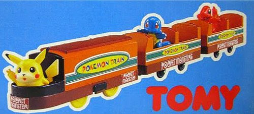 Charmander figure in Tomy Pokemon Train