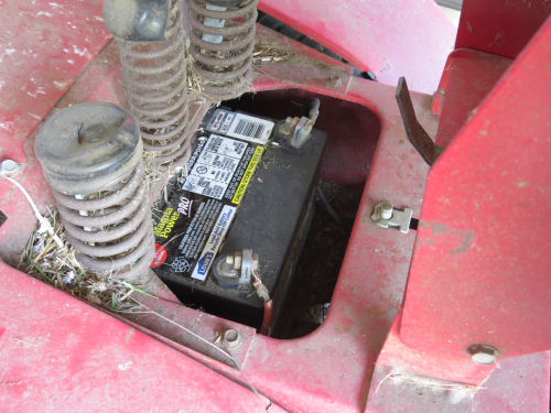 lawnmower battery