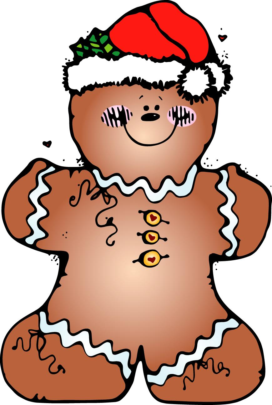 meet the dubiens gingerbread cookies clipart