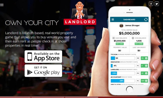 Hướng dẫn chơi game Landlord real estate tycoonGame - tương tự Pokemon go