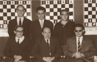 Componentes del Club Ajedrez Alcoy